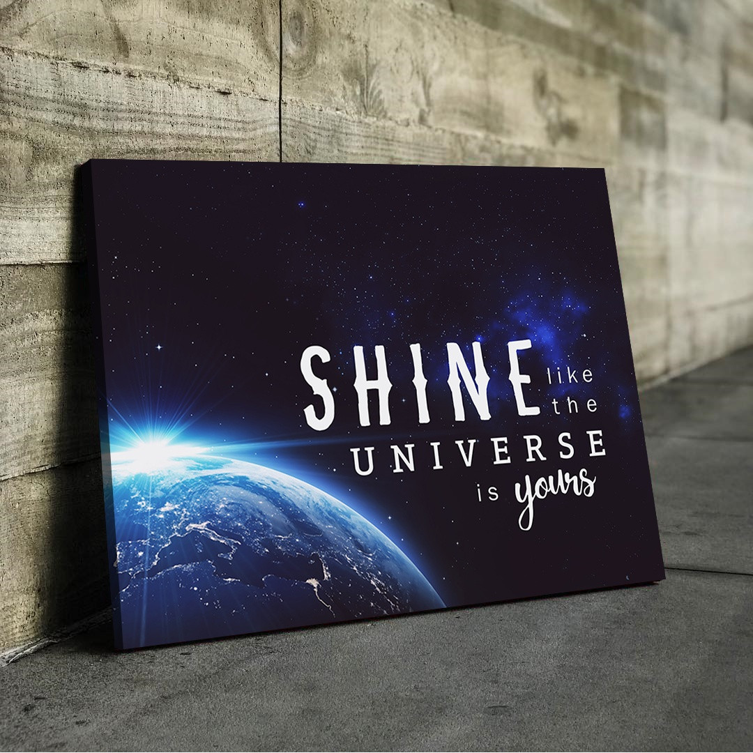 Shine like the universe is yours_SHN510_1