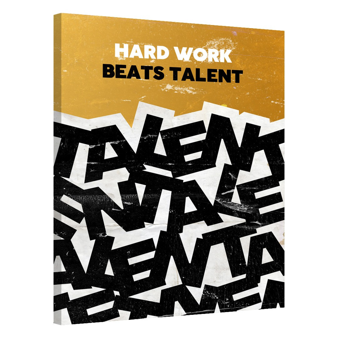 Hard Work Beats Talent_HWBT557_0
