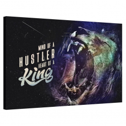 Mind of Hustler, Heart of a King