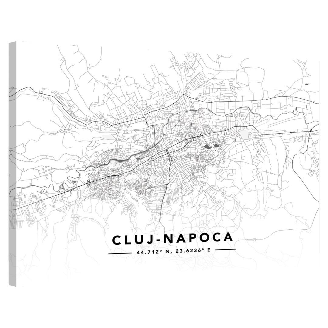 Cluj-Napoca · Street Map · Landscape_MAP603_3