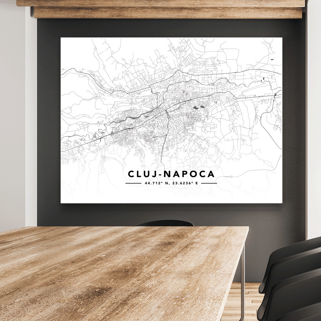 Cluj-Napoca · Street Map · Landscape_MAP603_5