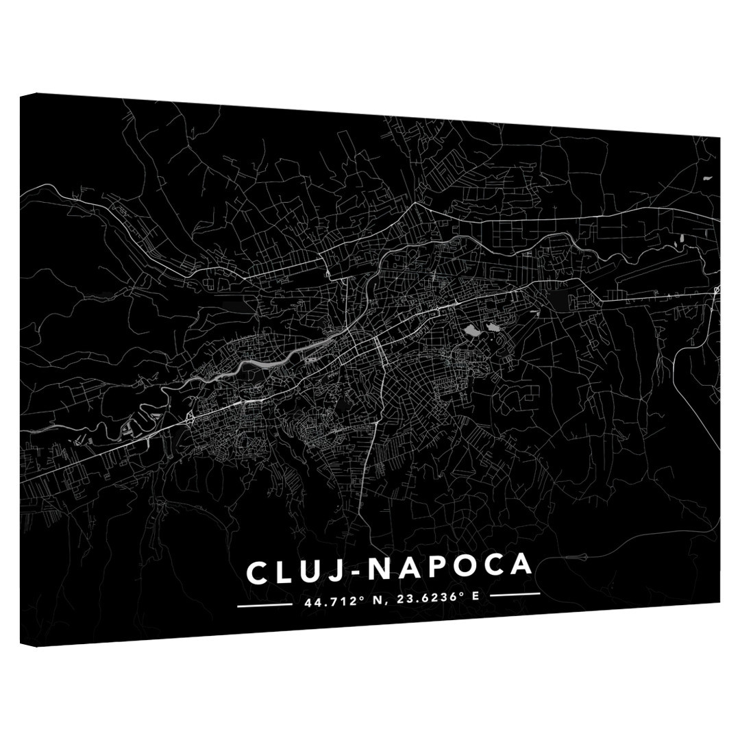 Cluj-Napoca · Street Map · Landscape_MAP603_0