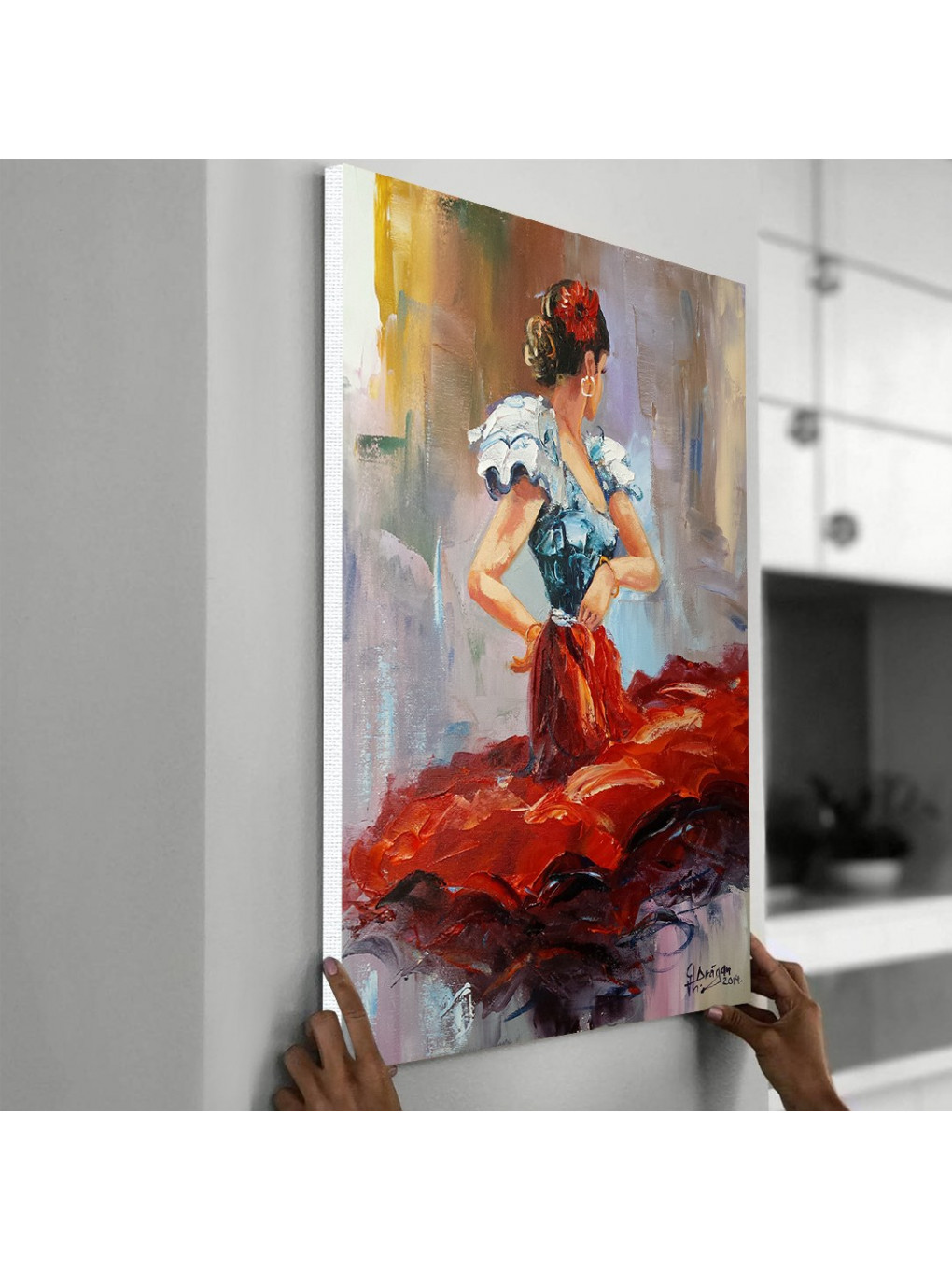Dancing Lady in Red_DLR620_3