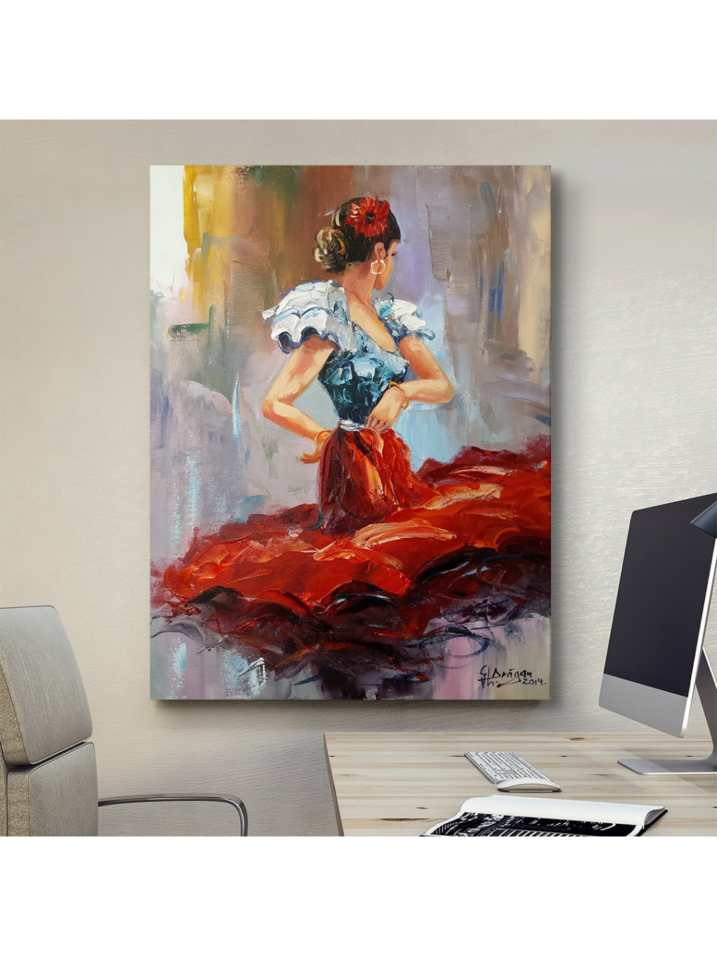 Dancing Lady in Red_DLR620_5