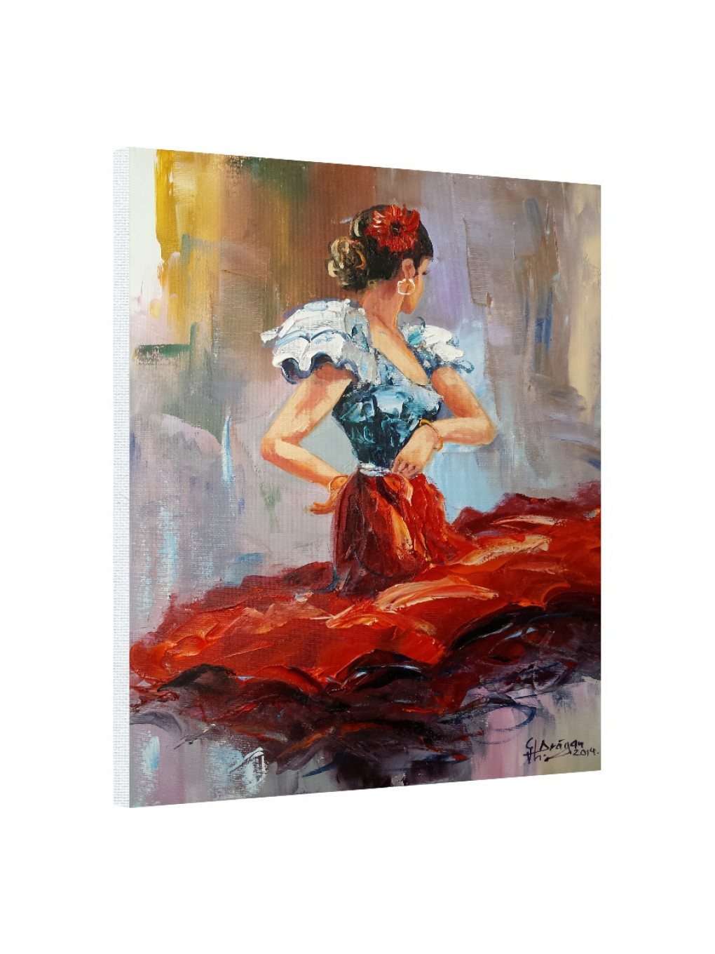 Dancing Lady in Red_DLR620_0