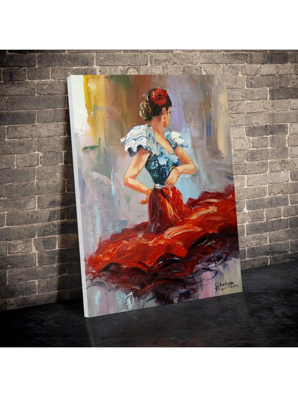 Dancing Lady in Red_DLR620_1