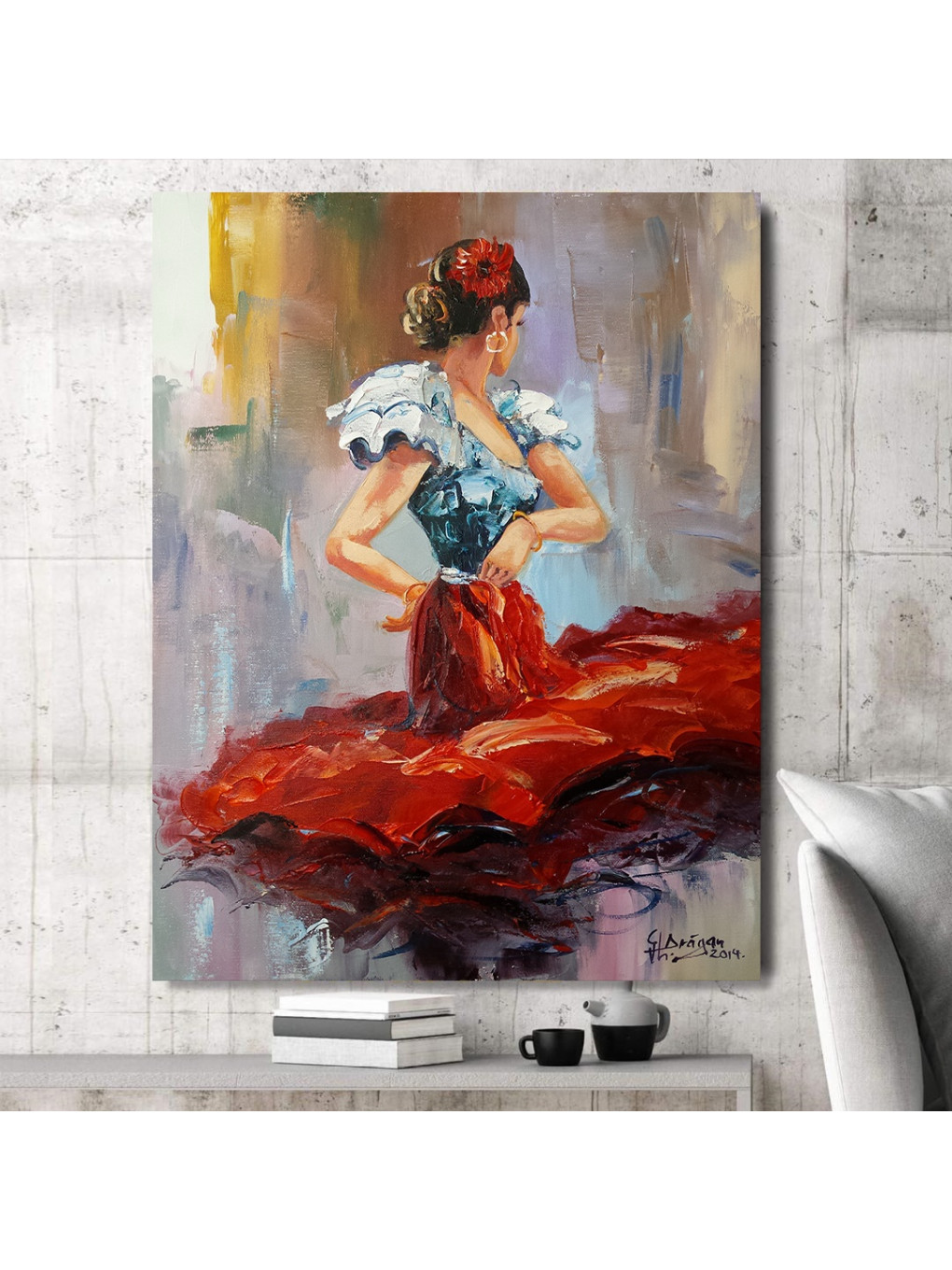 Dancing Lady in Red_DLR620_2