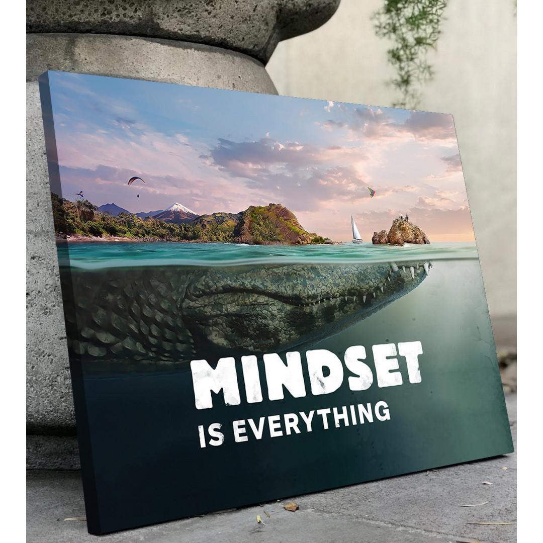 Mindset is everything (Crocodile)_MND690_1