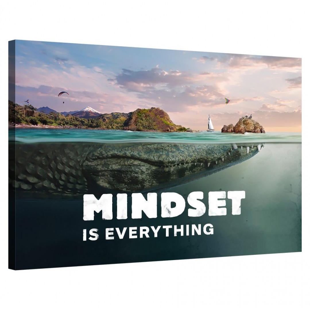 Mindset is everything (Crocodile)_MND690_0